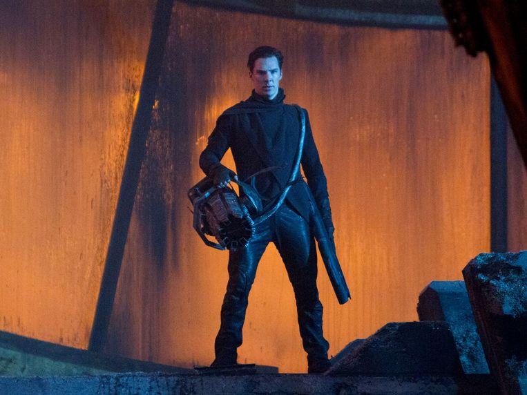 Benedict Cumberbatch in Star Trek into Darkness van J.J. Abrams Beeld