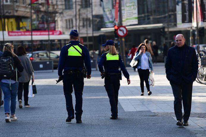 De Antwerpse politie is extra alert.