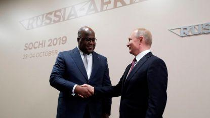 Russen moderniseren Congolese sporen