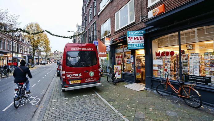 Kantoorvakhandel Mado nu ook weg uit de Burgemeester Reigerstraat.