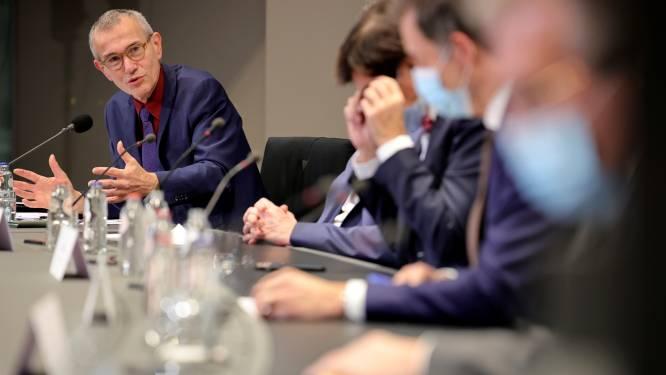 Vandenbroucke legt uit wat hij dan wél bedoelde met 'schokeffect', sp.a-voorzitter Rousseau behoudt vertrouwen in zijn kopman