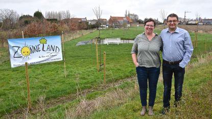 """Welkom in Zonneland, de tuin voor iedereen: """"Dit moet zowel een rustpunt als een ontmoetingsplaats worden, waar mensen weer leren communiceren met elkaar"""""""