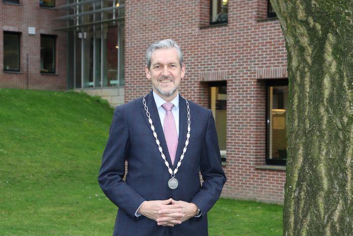 Burgemeester Hans van der Pas