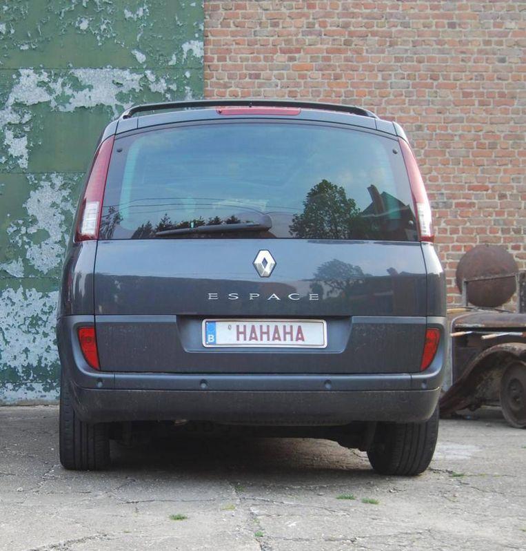 Europese overheden verdienen miljoenen aan de verkoop van gepersonaliseerde of bijzondere kentekens voor auto's. Beeld