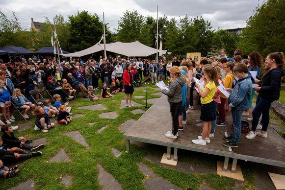 Dag van het Park in het Burgraaf Frimoutpark kon heel wat volk trekken.