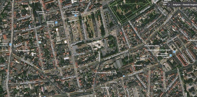 De Wilgenstraat in Antwerpen-Noord.