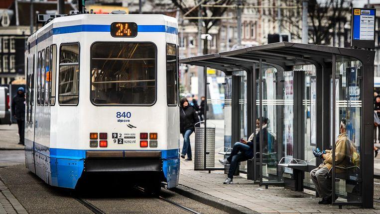 Hendrik Jan Parmentier ziet de tram liever verdwijnen. Beeld anp