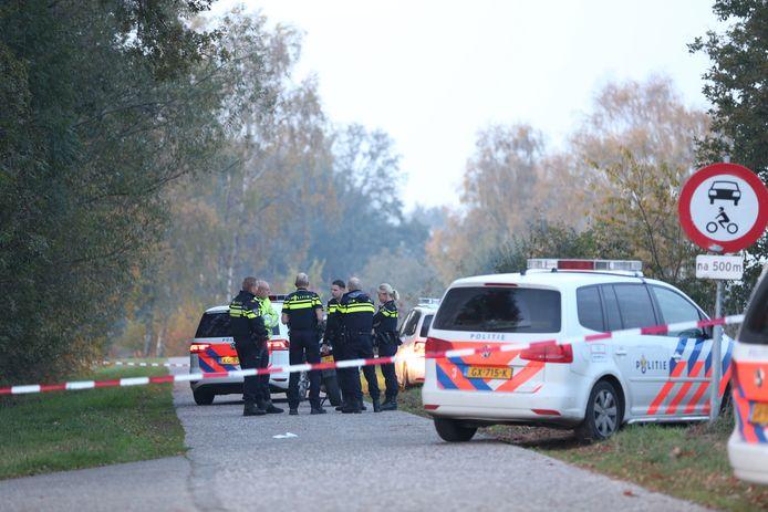 Aan de Vlierdijk in Wierden heeft vanmiddag een incident plaatsgevonden