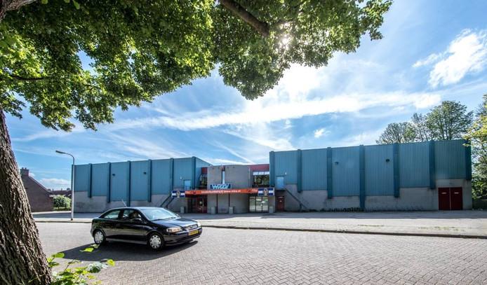 De WRZV-sporthal aan de Buitengasthuisstraat. Foto Frans Paalman