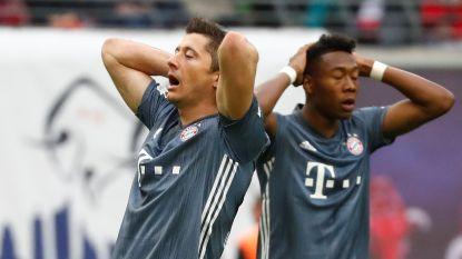 Leipzig houdt 'Rekordmeister' in bedwang, Bayern heeft titel nog niet binnen