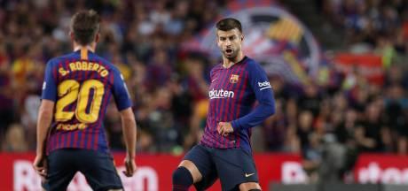 Koeman bij Barcelona lang zonder Sergi Roberto en Piqué