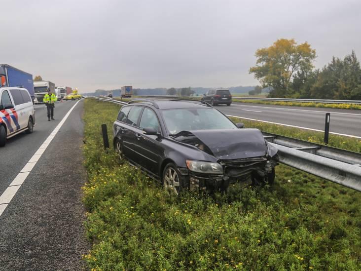 Gewonde door botsing op A67 bij Liessel
