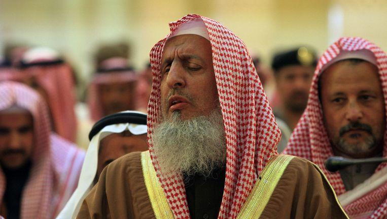 De Saoedische grootmoefti Abdoelaziz al Sjeik. Beeld afp