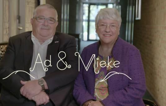 Hoteloprichters Ad en Mieke Mutsaers.
