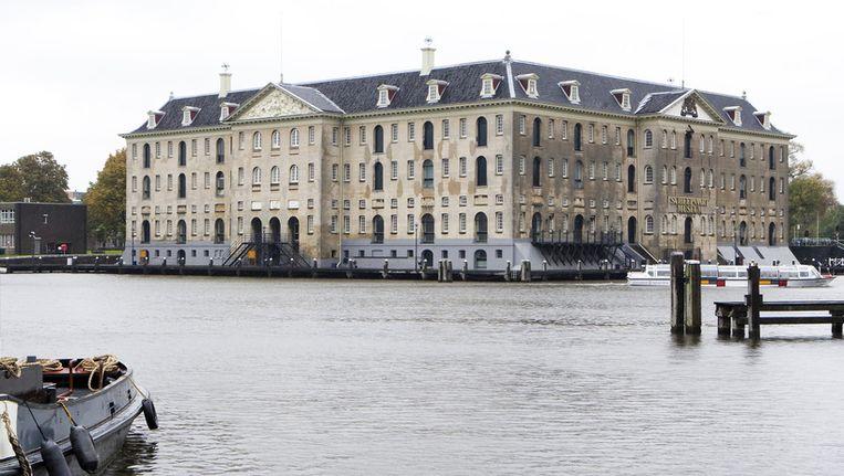 Het Scheepvaartmuseum in Amsterdam. ©ANP Beeld null