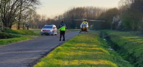 Jongen gewond door ongeluk met crossmotor in Hengelo