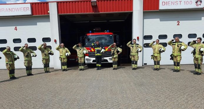 De brandweerpost in Hoogstraten.