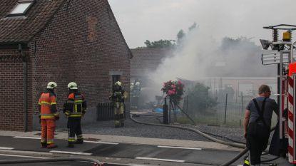 Asbest vrijgekomen bij garagebrand