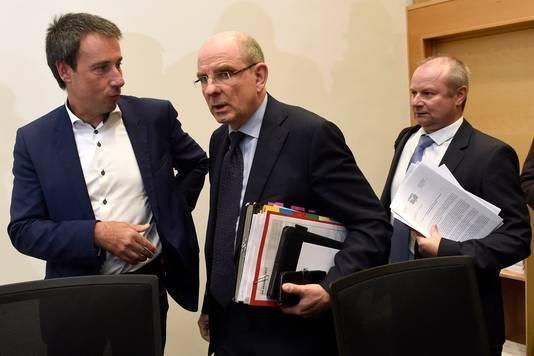 Philippe Goffin (à gauche)
