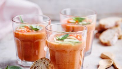 Heerlijk verfrissend! 3 receptjes voor gazpacho