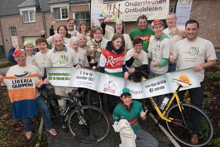 Vrijwilligers van De Sportpaleisvrienden, De Bolster en De Bosrank hebben er alvast zin in.