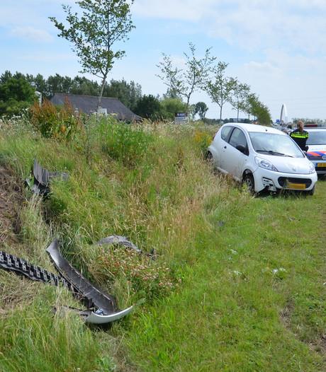 Automobilist gewond bij ongeluk in Zutphen