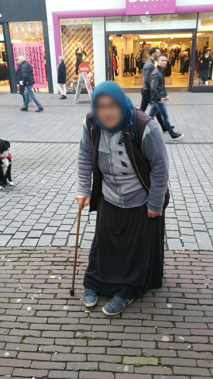 Een bedelaar in Breda.