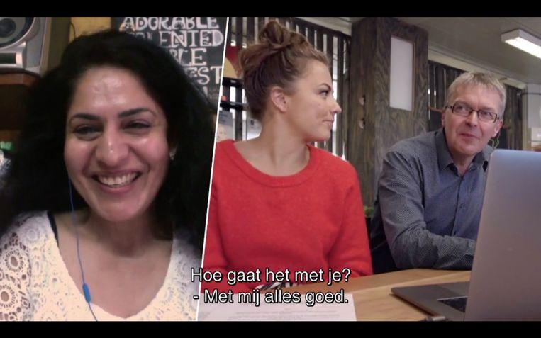 Drie jaar en zeven maanden heeft ze naar hem gezocht, en dankzij 'Make Belgium Great Again' vindt ze hem eindelijk: de man die op 22 maart 2016 een van de redders was van de Indiase stewardess Nidhi Chaphekar.