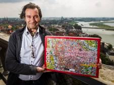 De volledige geschiedenis van Deventer in één tekening en 3000 puzzelstukjes