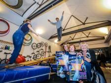 Circusatelier Woesh wil nieuw dak, want het plafond is te laag
