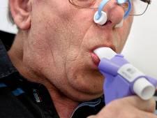 Duizenden patiënten met longziekte vaker thuis behandeld