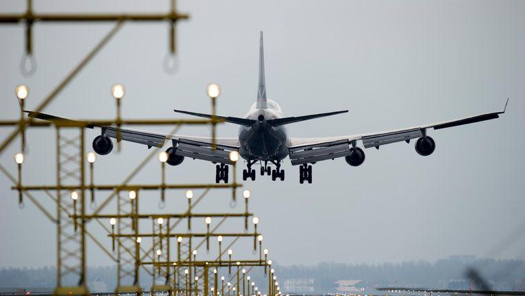 In 2017 lag het wekelijks aantal vluchten op 32.300. Beeld anp