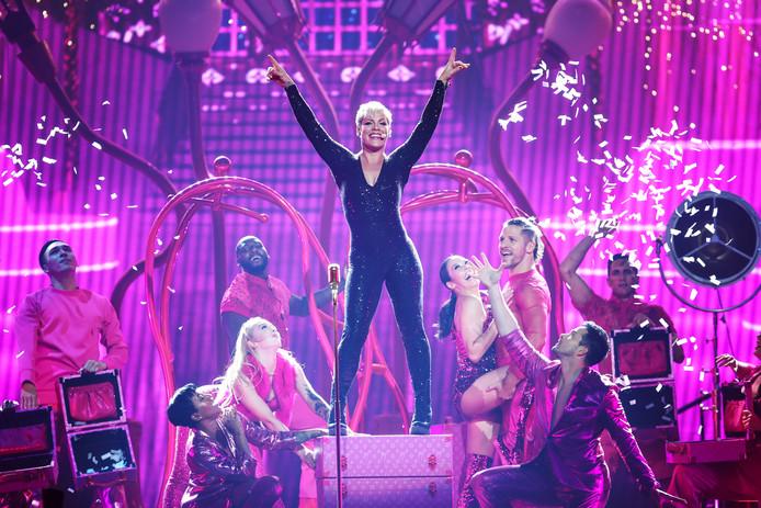 Optreden Pink dit jaar in Sydney.