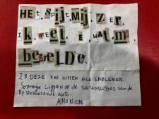 Embleemdief met spijt moet zich melden, anders maakt politie Tilburg beelden openbaar