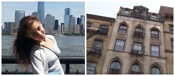 De New Yorkse tiener Imogen Roche maakte een dodelijke val vanaf de vierde verdieping.