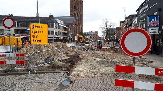 De Enschedesestraat is bijna klaar, nu is de Langestraat aan de beurt.