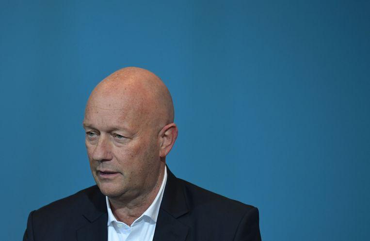 Thomas Kemmenich (FDP) is onverwacht tot minister-president gekozen van deelstaat Thüringen. Beeld AFP