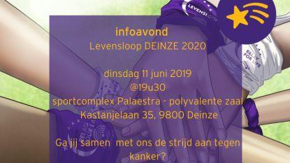 Levensloop komt volgend jaar naar Deinze, vanavond infoavond in Palaestra