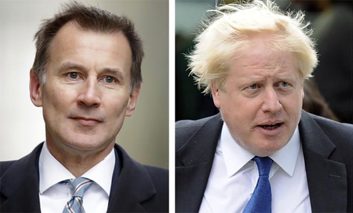 Jeremy Hunt et Boris Johnson