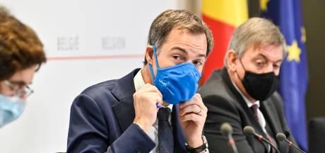 België voert strengere coronamaatregelen in, geen verbod op niet-essentiële verplaatsingen