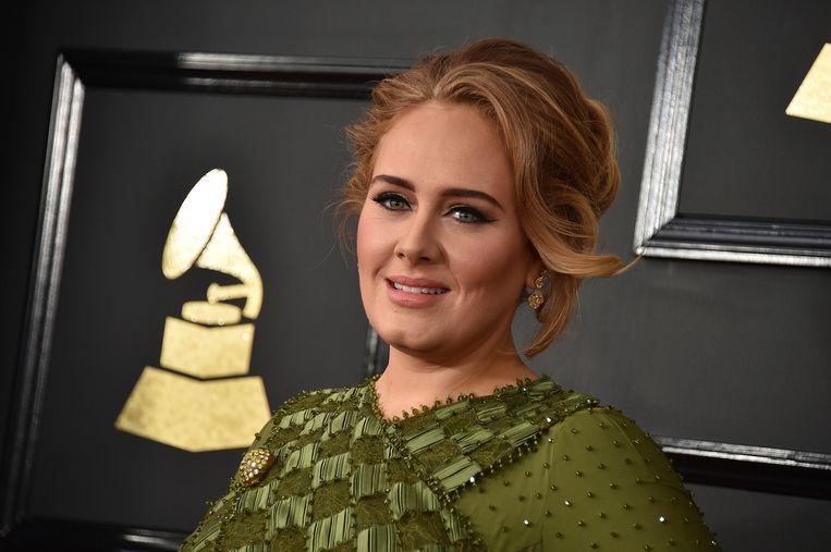 De Britse zangeres Adele.