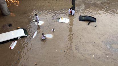 Midden-Oosten kreunt onder zware onweders: 12 doden in Jordanië, overstromingen in hoofdstad Saudi-Arabië