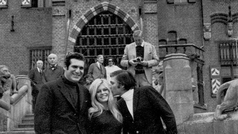 Brigitte Bardot bij De Haar Beeld Kasteel de Haar