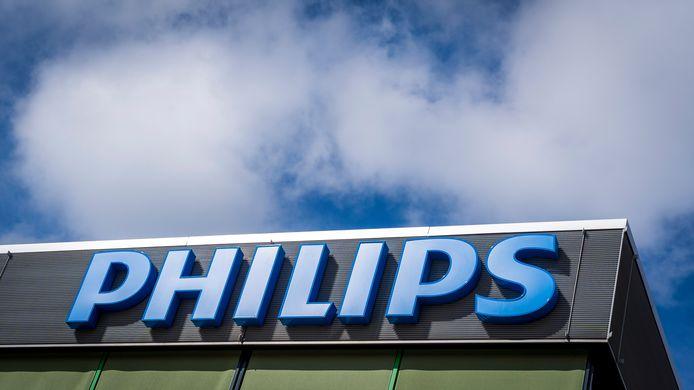 Het logo van Philips.