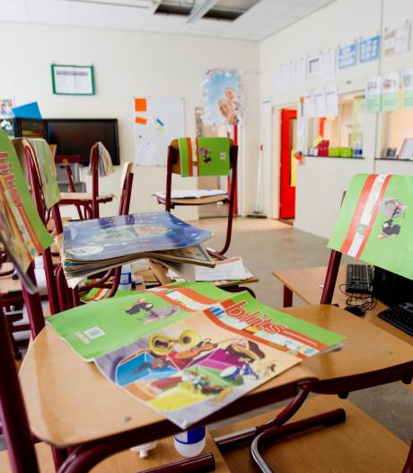 Lerarenkamer Mariaschool in Someren wordt klaslokaal