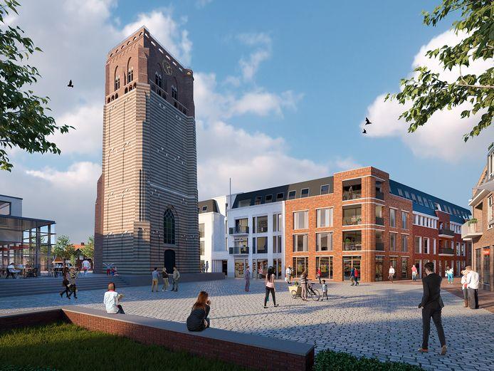 Het ontwerp voor de Raadskamer in Sint-Michielsgestel.