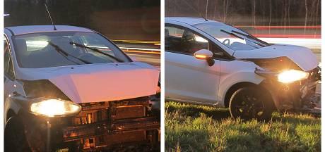 Chaos op A1 na ongelukken: file richting het westen