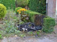 Elstenaar krijgt bon voor verbranden tuinafval