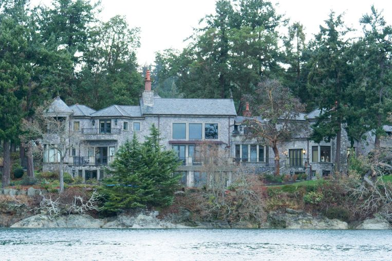 De stek van Harry en Meghan op Vancouver Island.