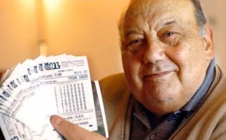 Frane Selok won in 2003 één miljoen dollar met een loterij.